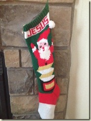 Jesus Stocking